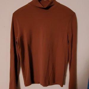 Jones New York Sport Brown Long Sleeve Blouse - M